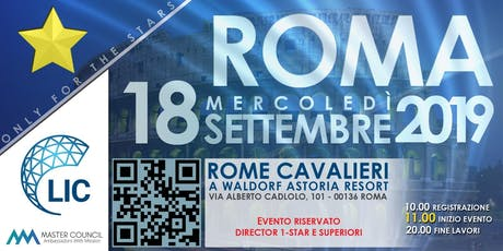 AWM Roma - Only 4 The Stars. biglietti