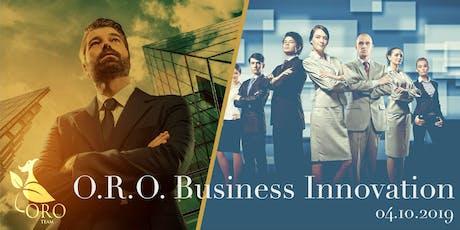 O.R.O. Business Innovation biglietti