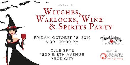 Witches, Warlocks,  Wine & Spirits Party
