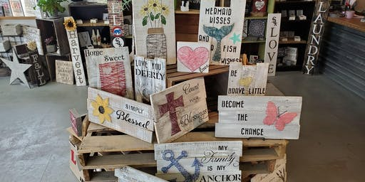 String Art Stone & Pallet™ Schererville - Eco-friendly Home Goods made by YOU!