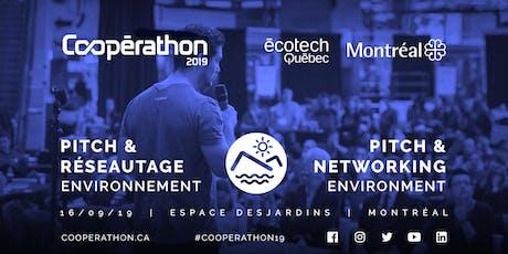 Pitch & Réseautage/Pitch & networking - MTL - Environnement/ Environment billets