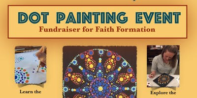 St Paul Catholic Church Dot Painting Event