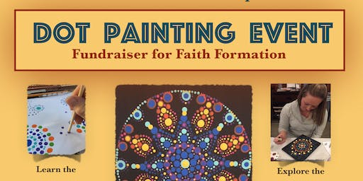 St Paul Catholic Church Dot Painting Event