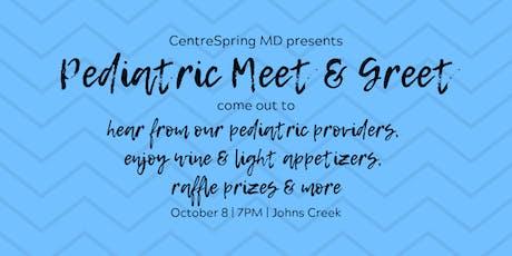 Pediatric Meet & Greet Johns Creek tickets