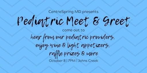 Pediatric Meet & Greet Johns Creek