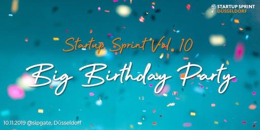 Startup Sprint Vol. 10 - Geburtstagsparty