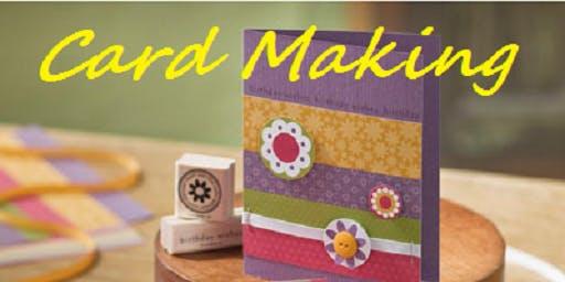 Card Making @ The Hub