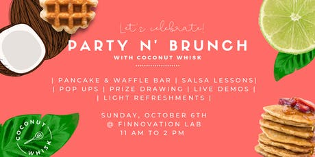 Party N' Brunch with Coconut Whisk tickets