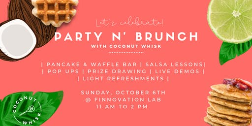 Party N' Brunch with Coconut Whisk