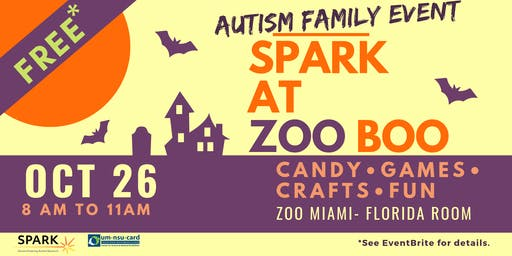 Free Zoo Boo with SPARK | Autism Family Event