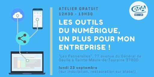 """Atelier """"les outils du numérique, un plus pour mon entreprise !"""""""
