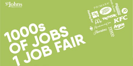 Liverpool City Centre/St John's Jobsfair tickets