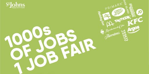 Liverpool City Centre/St John's Jobsfair