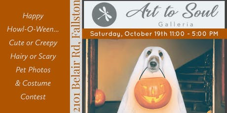 Art to Soul Howl-O-Ween Spooktacular Pet Costume Contest & Photo Portraits tickets