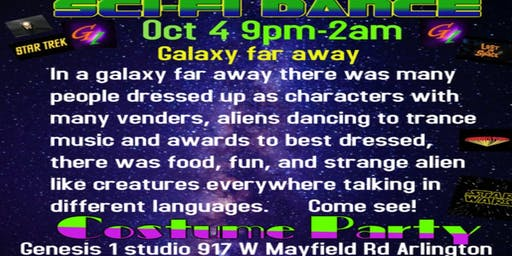 Sci-Fi Out of this World Dance Event