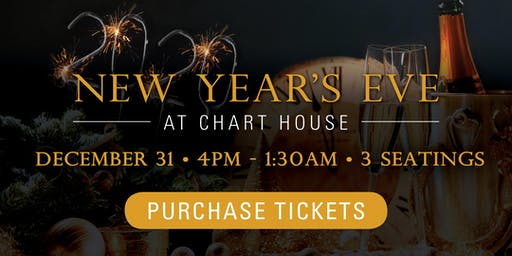 Chart House New Year's Eve 2019 - Alexandria, VA