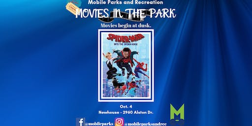 Movies in the Park: Spider-Man Into the Spider-verse