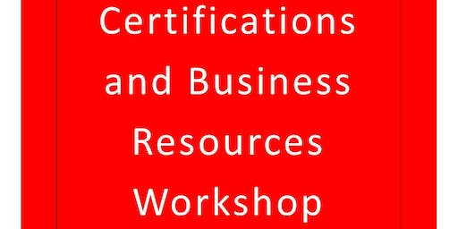 Meigs County Small Business Certifications and Business Resources Workshop