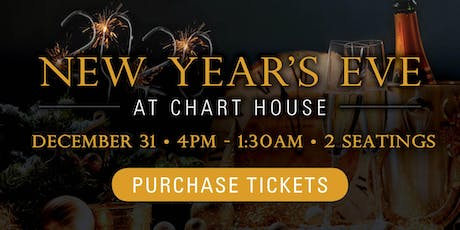 Chart House New Year's Eve 2019 - Philadelphia, PA tickets