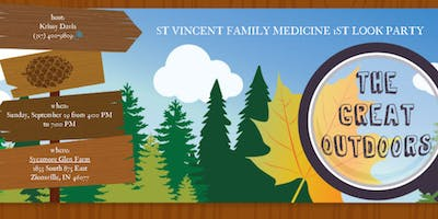 St Vincent Family Medicine - 1st Look Party - Sycamore Glen Farm