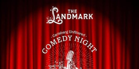 Free Comedy (& Drinks!) at The Landmark tickets
