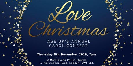 Love Christmas Carol Concert 2019 tickets
