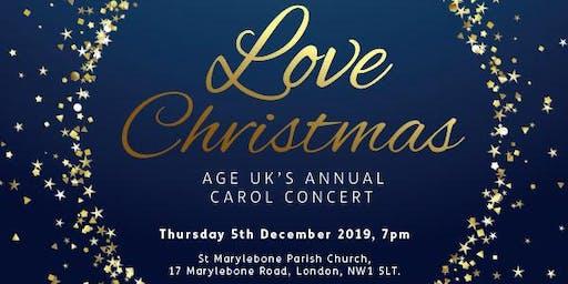 Love Christmas Carol Concert 2019