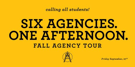 Fall Agency Tour tickets