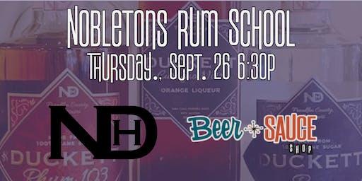 Nobleton's Rum School