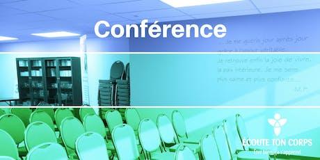"""Conférence """"Quelles dépendances vous empêchent d'écouter vos besoins?"""" avec Lise Bourbeau billets"""