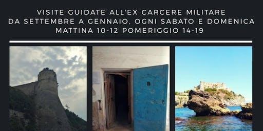 GAETA, CASTELLO ANGIOINO - EX CARCERE MILITARE