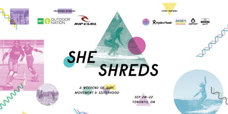 She Shreds: A Weekend of Surf, Movement & Sisterhood tickets