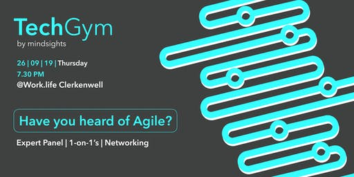 TechGym Class: Have you heard of Agile?