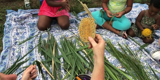 Grass Coil Basket Workshop and Indigenous Guatemalan Crafts