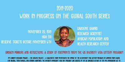 Work in Progress on the Global South Series - Caroline Kabiru