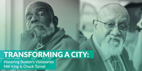 Transforming a City: Honoring Boston's Visionaries tickets