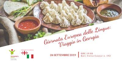 Giornata Europea delle Lingue: Viaggio in Georgia