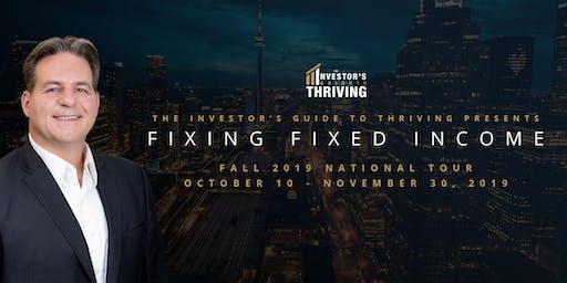 Larry Berman Live - Fall 2019 - Ottawa