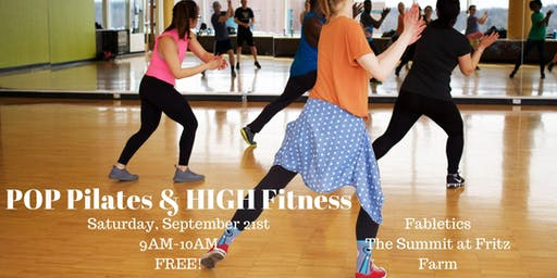POP Pilates & HIGH Fitness at Fabletics