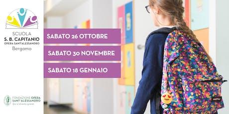 Scuola S.B. Capitanio / Open Day biglietti