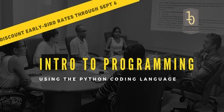Intro To Software Engineering In Python: Evening Workshop (8 Sessions) tickets