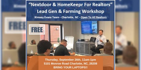 Leverage Nextdoor & HomeKeepr  tickets