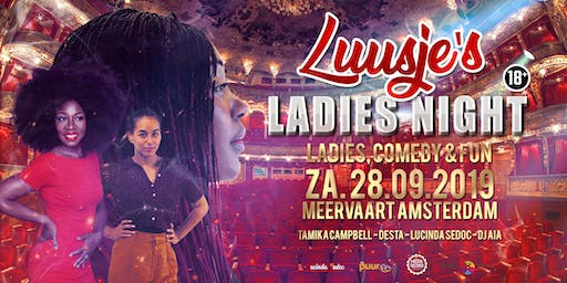 Luusje's Ladies Night (Reservering)
