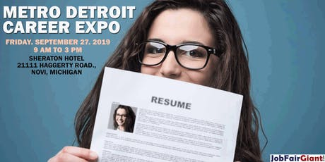 Detroit Career Expo - Novi tickets