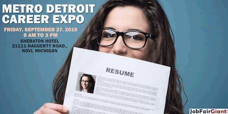 Detroit Career Expo - Novi tickets