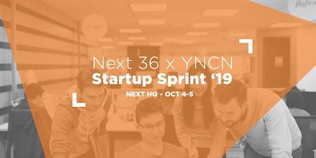 NEXT Canada x YNCN present: Next 36 Startup Sprint 2019 tickets