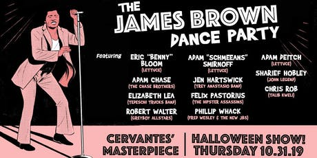James Brown Dance Party ft. Adam Deitch, Adam Smirnoff, Eric Bloom + More tickets