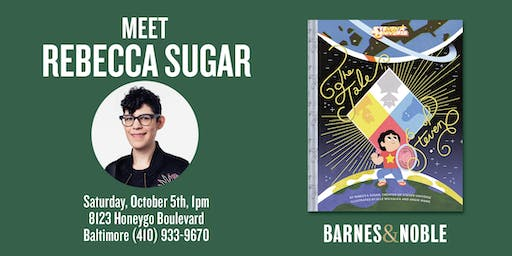 Meet Rebecca Sugar at Barnes & Noble White Marsh