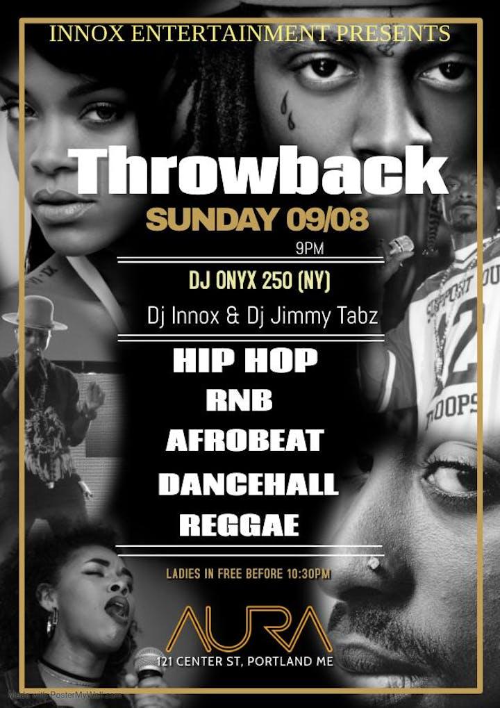 Throwback (Hip hop, RnB, Afrobeats, Kizomba, Dancehall