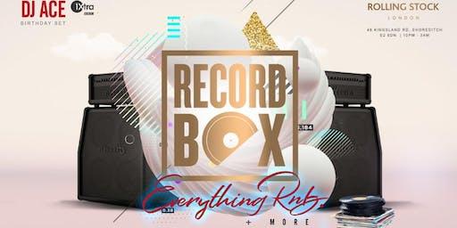 RecordBox  - DJ ACE's Birthday Party
